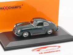 Porsche 356 A coupé année de construction 1959 vert foncé 1:43 Minichamps