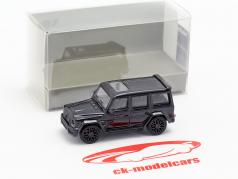 Brabus 850 6.0 Biturbo Widestar based on Mercedes-Benz AMG G63 2015 dark blue 1:87 Minichamps