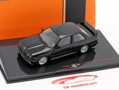 BMW M3 (E30) Sport Evolution ano de construção 1990 preto 1:43 Ixo