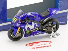 Valentino Rossi Yamaha YZR-M1 #46 MotoGP 2018 1:18 Maisto