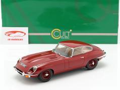 Jaguar E-Type coupe serie 2 Bouwjaar 1968 rood 1:18 Cult Scale
