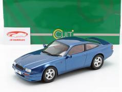 Aston Martin Virage ano de construção 1988 azul metálico 1:18 Cult Scale