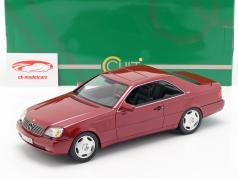 Mercedes-Benz 600 SEC (C140) Baujahr 1992 rot metallic 1:18 Cult Scale