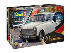Trabant 601 30 aniversário queda do muro Berlim 1989 estojo 1:24 Revell