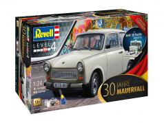 Trabant 601 30 anniversaire chute du mur Berlin 1989 trousse 1:24 Revell