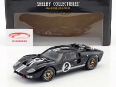 Ford GT40 MK II #2 勝者 24h LeMans 1966 McLaren, Amon 1:18 ShelbyCollectibles