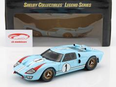 Ford GT40 MK II #1 第2 24h LeMans 1966 Miles, Hulme 1:18 ShelbyCollectibles