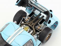 Ford GT40 MK II #1 segundo 24h LeMans 1966 Miles, Hulme 1:18 ShelbyCollectibles