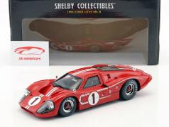 Ford GT40 MK IV #1 ganador 24h LeMans 1967 Gurney, Foyt 1:18 ShelbyCollectibles