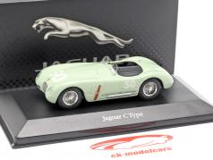 Jaguar C-Type #50 GP Reims 1952 Stirling Moss 1:43 Atlas