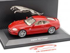 Jaguar XK coupe year 2005 red 1:43 Atlas