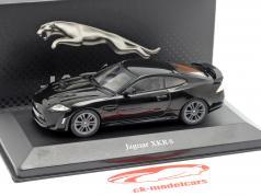 Jaguar XKR-S year 2012 black 1:43 Atlas