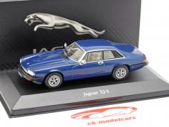 Jaguar XJ-S  blau metallic 1:43 Atlas