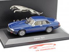 Jaguar XJ-S  blue metallic 1:43 Atlas