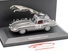 Jaguar E-Type Coupe (CTV 522) #104 Rallye Monte Carlo 1965 1:43 Atlas