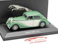 Jaguar MK IV 3.5L year 1945 green 1:43 Atlas
