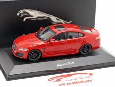 Jaguar XFR ano de construção 2012 vermelho 1:43 Atlas