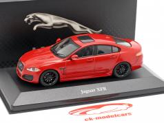 Jaguar XFR Baujahr 2012 rot 1:43 Atlas