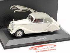 Jaguar MK V year 1948 white 1:43 Atlas