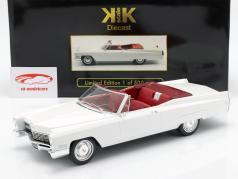 Cadillac DeVille conversível ano de construção 1968 branco 1:18 KK-Scale
