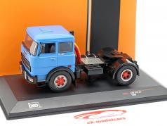 Fiat 619 N1 Truck year 1980 blue 1:43 Ixo