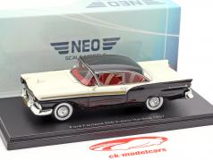 Ford Fairlane 500 2-door Hardtop year 1957 black / white 1:43 Neo