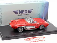 Chevrolet Corvette XP-700 Roadster Concept year 1959 red 1:43 Neo