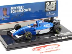 Michael Schumacher Ligier JS39B test Estoril formula 1 1994 1:43 Minichamps