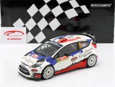 Ford Fiesta RS WRC #11 2º Rallye Monte Carlo 2014 Bouffier, Panseri 1:18 Minichamps