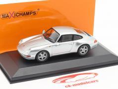 Porsche 911 (993) Baujahr 1993 silber 1:43 Minichamps