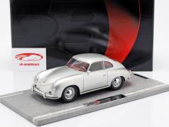 Porsche 356A ano de construção 1955 prata metálico 1:18 BBR