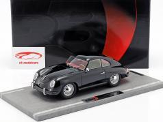 Porsche 356A year 1955 black 1:18 BBR