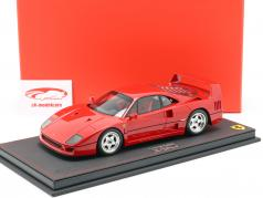 Ferrari F40 year 1987 corsa red 1:18 BBR
