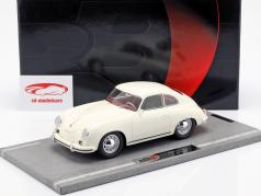 Porsche 356A ano de construção 1955 branco 1:18 BBR