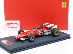 Jacky Ickx Ferrari 312B #12 gagnant Autriche GP F1 1970 avec vitrine 1:18 LookSmart