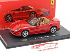 Ferrari California T open Top rojo 1:43 Bburago Signature