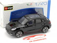 Porsche Macan schwarz 1:43 Bburago