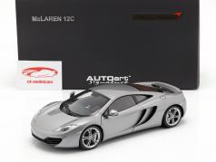 McLaren MP4-12C Anno 2011 argento 1:18 AUTOart
