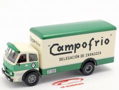 Pegaso 1060 Cabezon Campofrio ano de construção 1964 branco / verde 1:43 Altaya