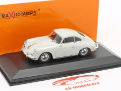 Porsche 356 B Coupe Baujahr 1961 grau 1:43 Minichamps