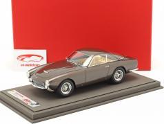Ferrari 250 GT Lusso coupe Steve McQueen cinza marrom metálico 1:18 BBR