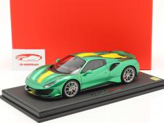 Ferrari 488 Pista Spider Closed Top Baujahr 2018 enzo grün metallic 1:18 BBR