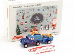 Land Rover com trailer Christmas Edition 2019 1:90 Schuco Piccolo