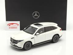 Mercedes-Benz EQC 4Matic (N293) ano de construção 2019 diamante branco 1:18 NZG