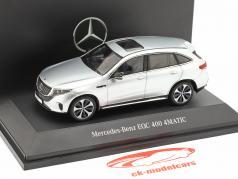 Mercedes-Benz EQC 4Matic (N293) year 2019 high-tech silver 1:43 Spark