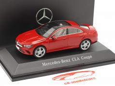 Mercedes-Benz CLA Coupe (C118) Opførselsår 2019 Jupiter rød 1:43 Spark
