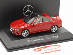 Mercedes-Benz CLA Coupe (C118) year 2019 jupiter red 1:43 Spark