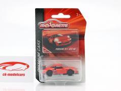 Porsche 911 GT3 RS red 1:64 Majorette