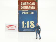 Zombie mechanic I figure 1:18 American Diorama