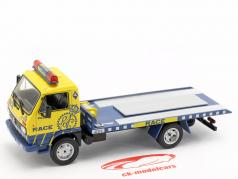 Pegaso Ekus 1210-6 Race Asistencia amarelo / azul 1:43 Altaya